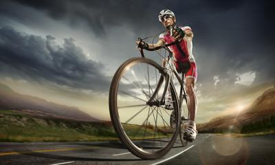 Sport. Road cyclist.