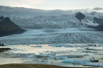 Fjallsarlon lagoon in Iceland