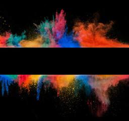 colored dust stripe