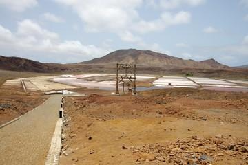 Les salines de Pedra Lume (Cap-Vert)