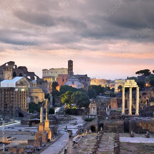 obraz PCV Forum Romanum, Rzym