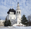 Vologda. Church of St. Nicholas in the winter day