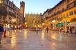 Verona,Piazza delle Erbe, Italy