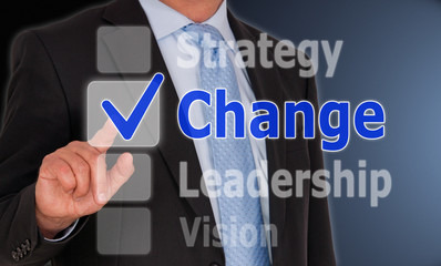 Change - Business Concept