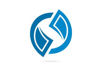 stock exchange logo design Vector