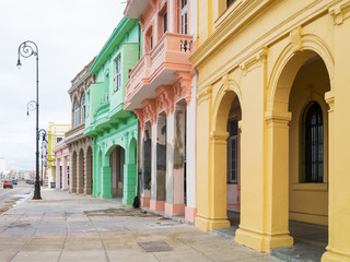 Colorful buildings in Old Havana
