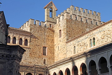 Guadalupe monastery, Caceres, Extremadura, Spain