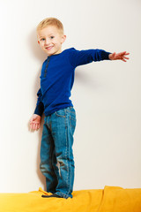 boy child preschooler playing at home