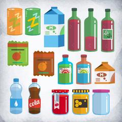 Бутылки и упаковки