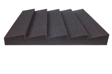 noise isolating protective and shock absorber foam