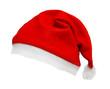 canvas print picture - Tilted Santa Hat