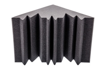 microfiber foam insulation for noise in the corners of the music