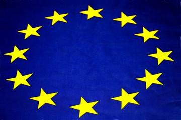 EU Fahne, Flagge der europäischen Union, perspektive