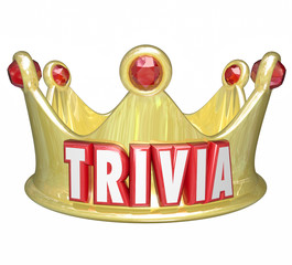 Trivia Word King Queen Crown Competition Game Winner