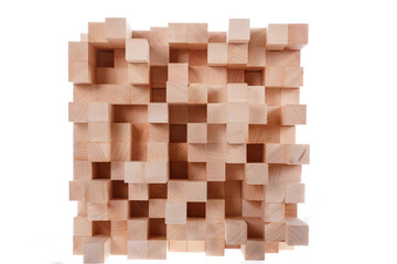 Skyline wooden music diffusor , professional room diffusion pane