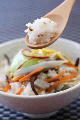 美味しい 玄米のおかゆ