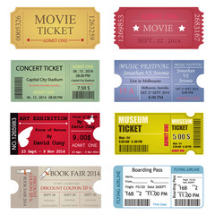 Ticket Template Designs