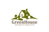 Real Estate House Logo design. Eco Natural Farm - 72177067