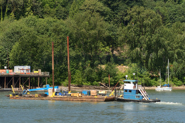 Bridge Barge