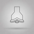 chisel icon oil and gas industry - 72177248