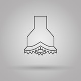 chisel icon oil and gas industry