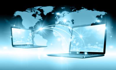 Internet Concept of global internet