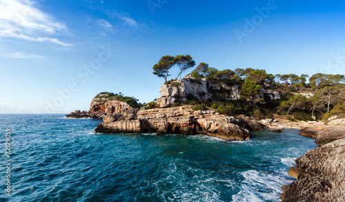 canvas print picture Costa Baleares