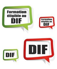 formation éligible au DIF - droit individuel a la formation