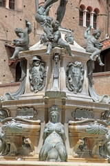 Fountain of Neptune,, Bologna, Italy