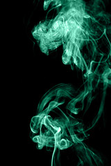 Green wave smoke