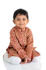 Portrait of a cute asian boy