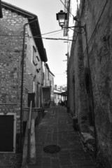 Case di pietra e vicoli- Castelluccio di Norcia