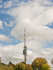 Basel, Chrischona, Fernsehturm, Turm, Herbst, Schweiz