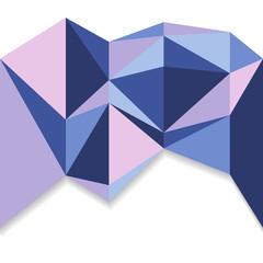 polygon seamless background