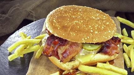 Big Cheeseburger (seamless loopable)