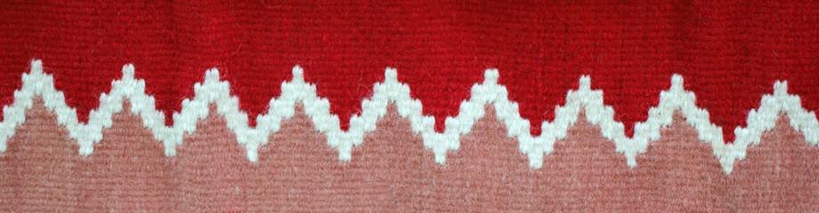 Three colors mottle rug