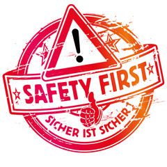 Stempel immer safety first