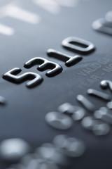 Credit card close-up - Stock Image