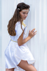 young Greek woman