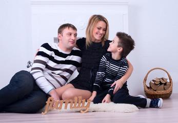 happy family fireside talks
