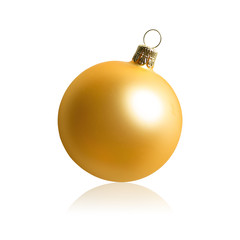 isolated christmas bauble