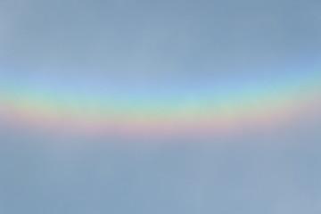 regenbogenfarben im himmel