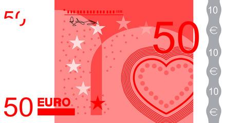 Herz Gutschein 50€
