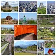 Japan photos - travel collage