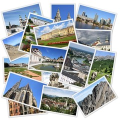 Austria photos - travel collage