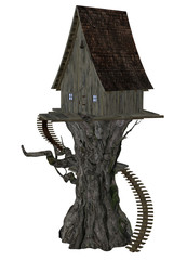 Witch House on Tree