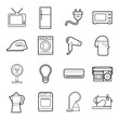 home appliances icon - 72191209