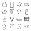 home appliances icon - 72191209