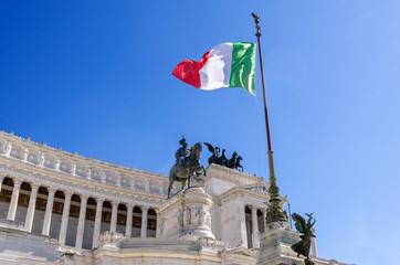 Roma, Altare della Patria o Vittoriano, monumento nazionale