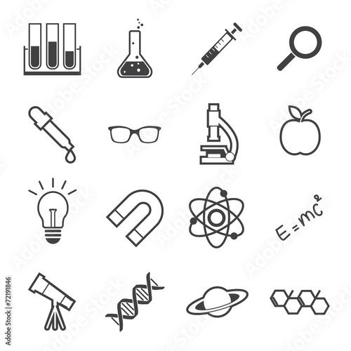 science icon - 72191846